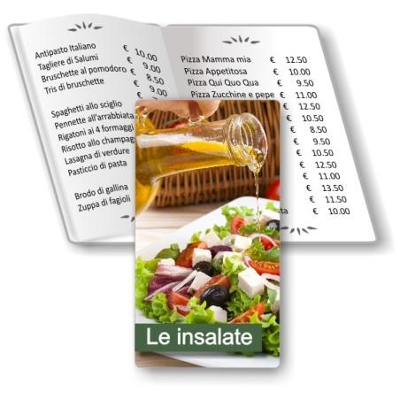 Porta menù Insalateria 06 Transparent