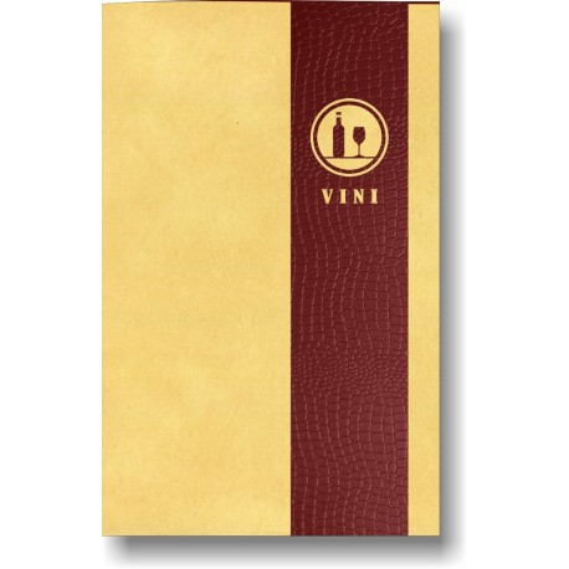 Porta lista dei vini in pelle mod. Soft touch 01 A005