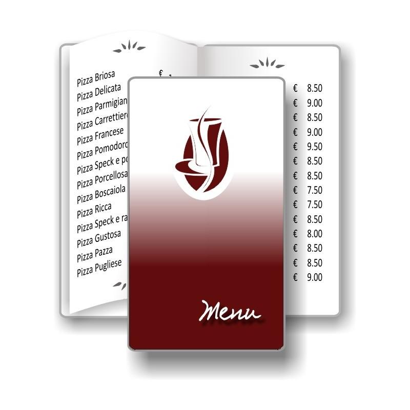 Porta menù Caffè 03 Transparent formato SLIM
