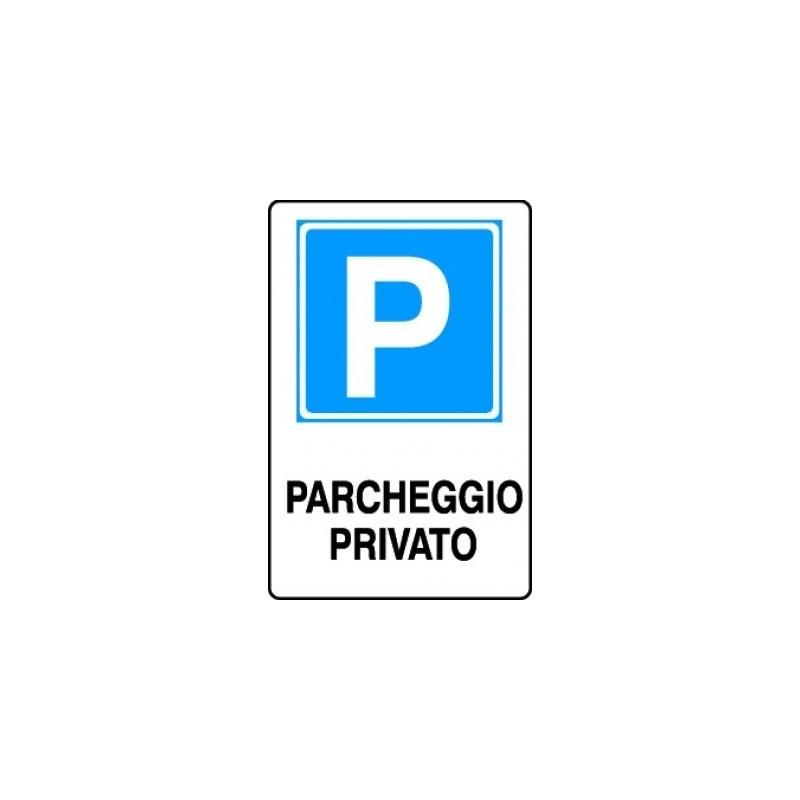 Segnale di informazione Parcheggio privato