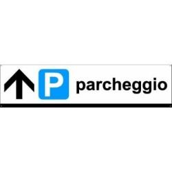 Tabella indicazione e informazione Parcheggio