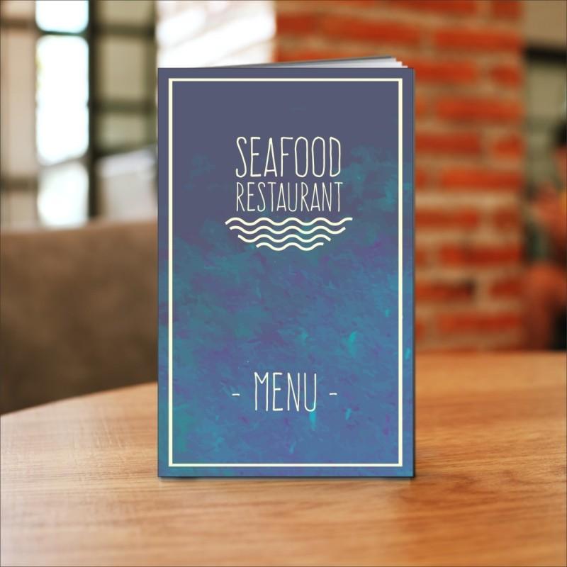 Porta menù ristorante mare SL03