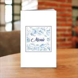Porta menù ristorante mare SL05