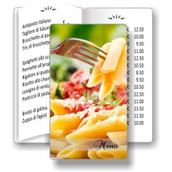 Porta menù Ristorante 13 Transparent