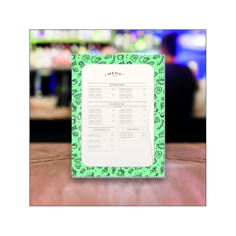 Porta menù ristorante mare SL00