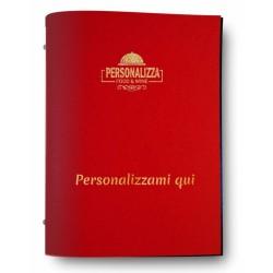 Glost rosso menù da personalizzare 0P