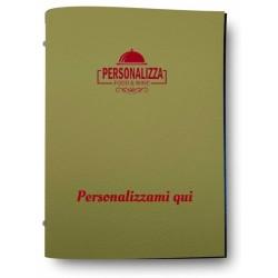 Glost verde oliva menù da personalizzare 0P