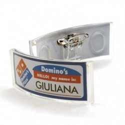 Segnanome Badge identificativo mod. Bandy