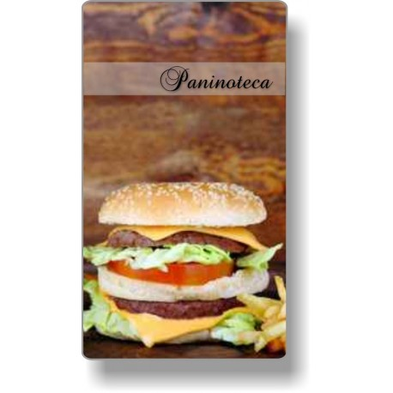 Porta menù Paninoteca 15 mod.Slim