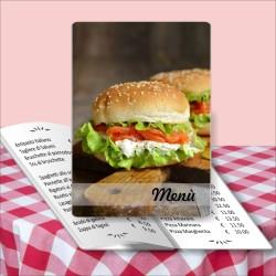 Porta menù Paninoteca 16 Transparent