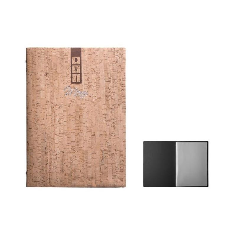 Porta menù in sughero mod. Maxi A4 e Medio