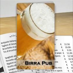Porta menù Birreria 06 Transparent