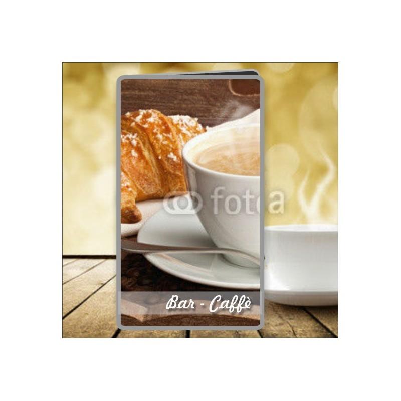 Porta menù Caffè 19 Transparent