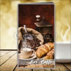 Porta menù Caffè 20 Transparent