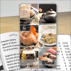 Porta menù Ristorante 21 Transparent