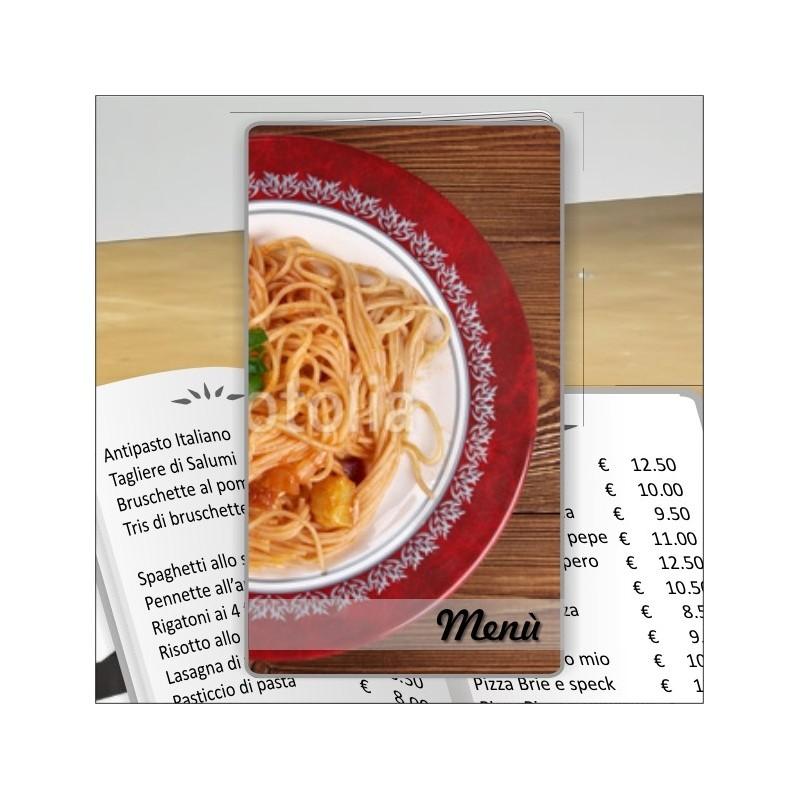 Porta menù Ristorante 22 Transparent