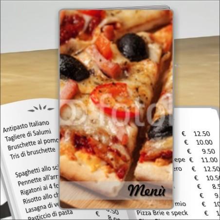 Porta menù Pizzeria 27 Transparent