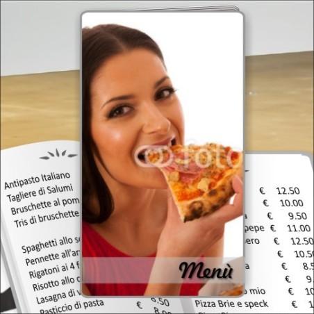 Porta menù Pizzeria 28 Transparent