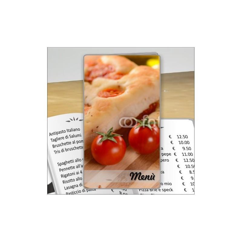Porta menù Pizzeria 32 formato SLIM