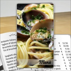 Porta menu Trattoria 35 Transparent