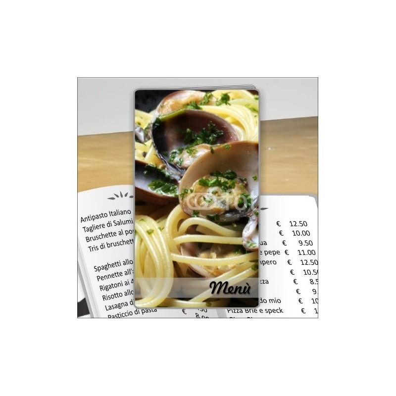 Porta menù personalizzabili Trattoria 35 formato SLIM