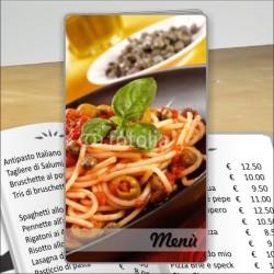 Porta menù Trattoria 43 Transparent
