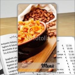 Porta menù Trattoria 45 Transparent