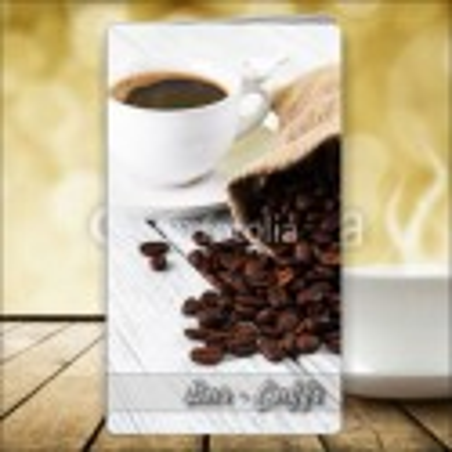 Porta menù Caffè 46 Transparent