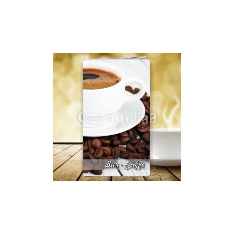 Porta menù Caffè 47 Transparent