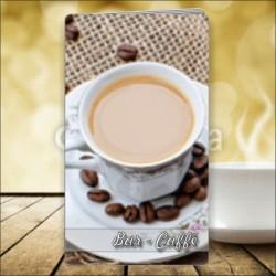 Porta menù Caffè 49 Transparent