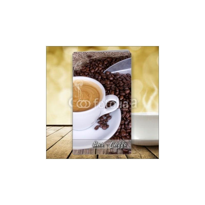 Porta menù personalizzabile per Caffè 51 formato SLIM