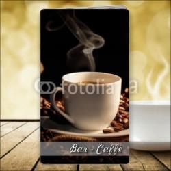 Porta menù Caffè 52 Transparent