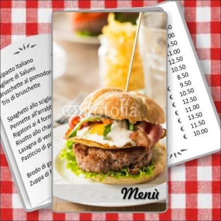 Porta menù Paninoteca 55 Transparent